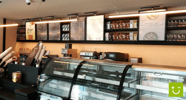 amperiance electricien montpellier Starbucks gare TGV d'Avignon