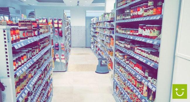 Nouvel environnement plus lumineux pour le magasin bio Rayons Verts Montpellier