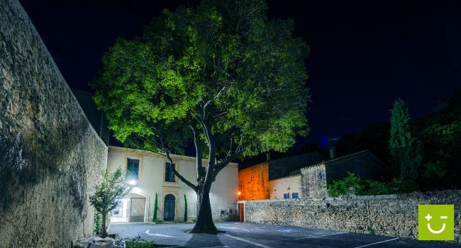 Amperiance électricité rénove une vieille maison vigneronne en un complexe mixte