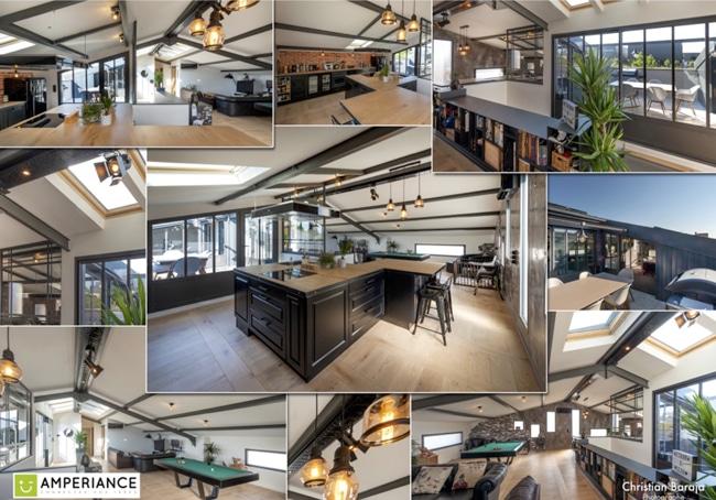 Rénovation Appartement par amperiance électricité et l'architecte banegas