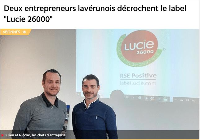label lucie 26000 amperiance électricité montpellier
